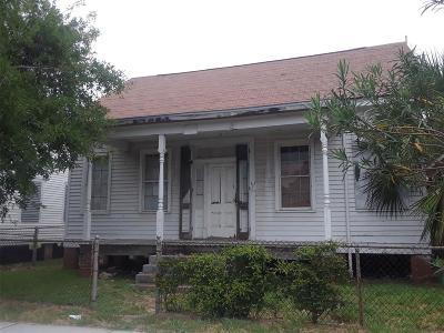 Galveston Single Family Home For Sale: 2814 Avenue L