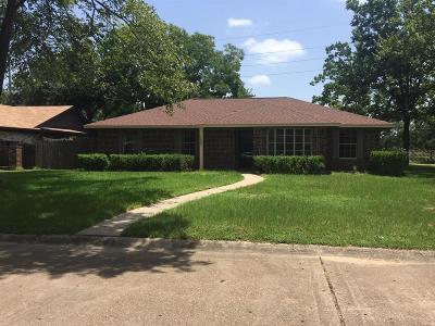 Houston Single Family Home For Sale: 14802 Plumtex Drive