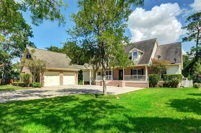 Dickinson Single Family Home For Sale: 707 Bayou Crest Drive
