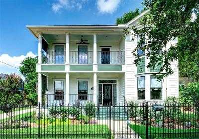 Houston Single Family Home For Sale: 2501 Nicholson Street