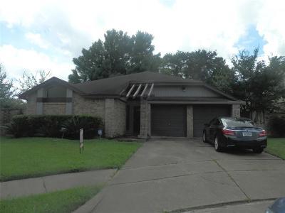 Houston Single Family Home For Sale: 7839 E Poitiers Drive