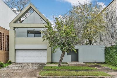 Houston Single Family Home For Sale: 1806 W Bell Street