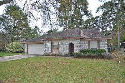 Kingwood Single Family Home For Sale: 2014 Lake Creek Drive