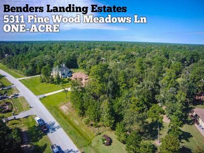 Spring Residential Lots & Land For Sale: 5311 Pine Wood Meadows Lane