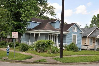 Houston Single Family Home For Sale: 519 W 14th Street