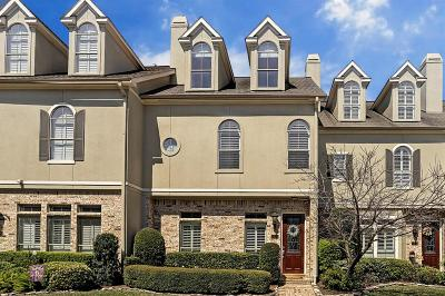 Houston Condo/Townhouse For Sale: 3430 Green Tree Park
