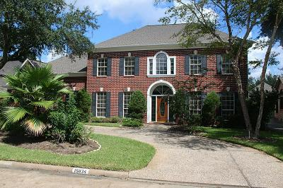 Houston Single Family Home For Sale: 15834 Hidden Cove