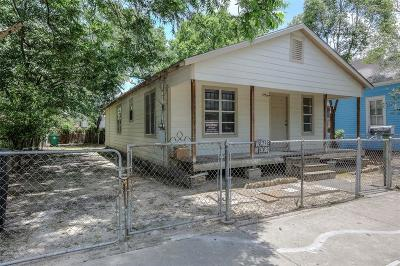 Houston Single Family Home For Sale: 412 Henry Street