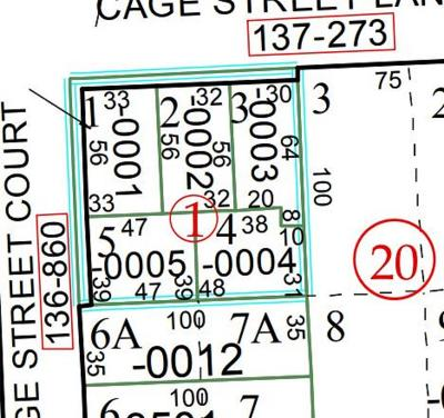 Residential Lots & Land For Sale: 616 Cage Street