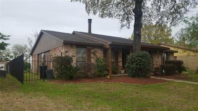 Houston Single Family Home For Sale: 14618 Lourdes Drive