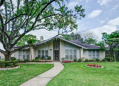 Houston Single Family Home For Sale: 11010 Cranbrook Road