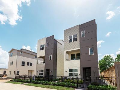 Houston Single Family Home For Sale: 2722 Eado Park Circle