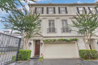 Houston Condo/Townhouse For Sale: 162 Oak Place Drive