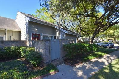 Houston Condo/Townhouse For Sale: 7073 Greenway Chase Street