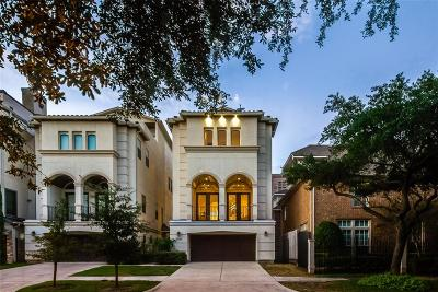 Houston TX Single Family Home For Sale: $979,900