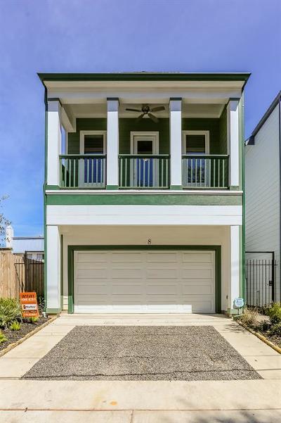 Harris County Single Family Home For Sale: 8 Hyde Park Boulevard
