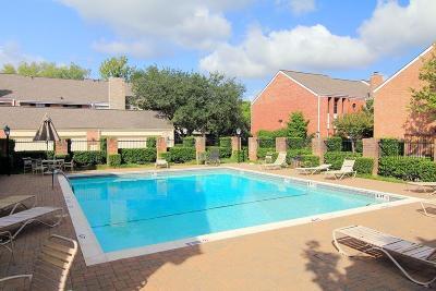 Houston Condo/Townhouse For Sale: 1016 Augusta Drive #1016
