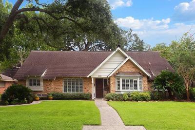 Houston Single Family Home For Sale: 602 Hallie Drive