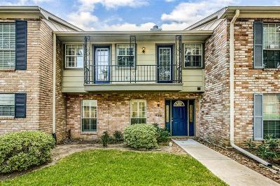 Houston TX Condo/Townhouse For Sale: $185,000