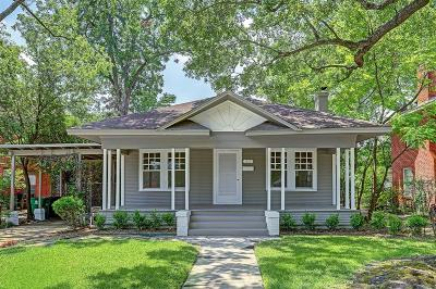 Houston Single Family Home For Sale: 1617 Branard Street