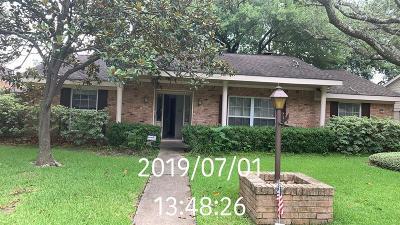 Houston TX Single Family Home For Sale: $279,000