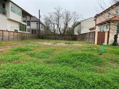 Bellaire Residential Lots & Land For Sale: 4304 Lafayette Street