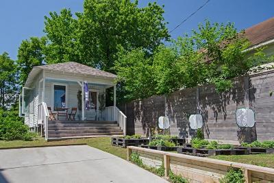 Single Family Home For Sale: 607 Burnett Street