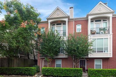 Houston Condo/Townhouse For Sale: 1016 Van Buren Street