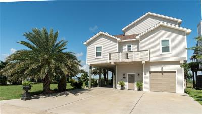 Galveston Single Family Home For Sale: 22614 Bay Pointe Drive