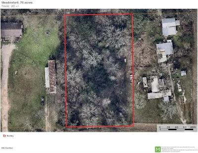 Tomball Residential Lots & Land For Sale: 15 Meadowlark Lane