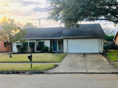 Houston Single Family Home For Sale: 9834 Sagepike Drive