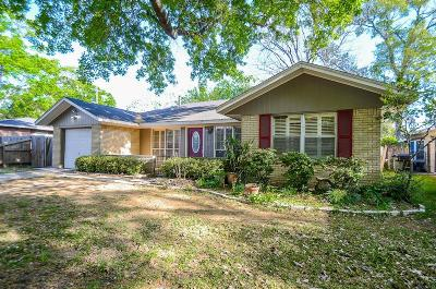 Houston Single Family Home For Sale: 4622 Carleen Road
