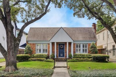 West University Place Single Family Home For Sale: 3031 Quenby Avenue