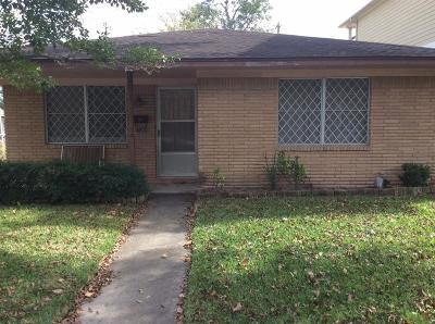 Houston Single Family Home For Sale: 706 N Columbia Street