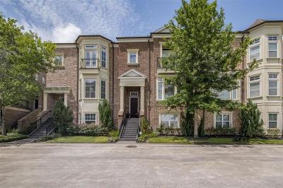 Houston Condo/Townhouse For Sale: 4619 Regent Manor Drive