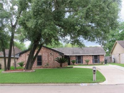 Houston TX Single Family Home For Sale: $185,000