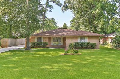 Conroe Single Family Home For Sale: 1604 Flamingo Street