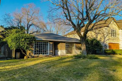 Bellaire Single Family Home Pending Continue to Show: 4612 Willow Street