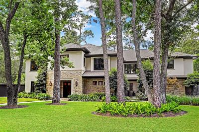 Bunker Hill Village Single Family Home For Sale: 323 Chapel Belle Lane