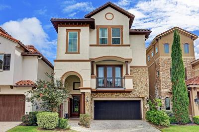 Sugar Land Condo/Townhouse For Sale: 806 Old Oyster Trail