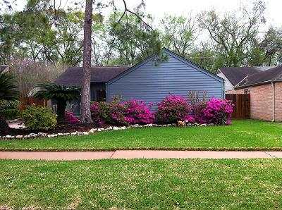 Houston Single Family Home For Sale: 4730 Hidden Springs Drive