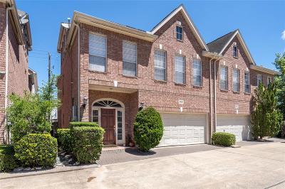 Houston Condo/Townhouse For Sale: 5622 Avalon Way