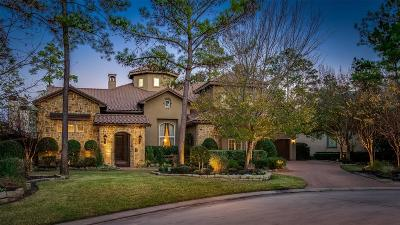 The Woodlands TX Single Family Home For Sale: $1,365,000