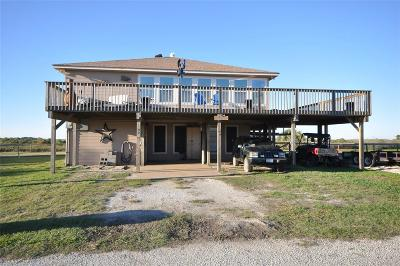 Matagorda Single Family Home For Sale: 499 Beachfront Drive