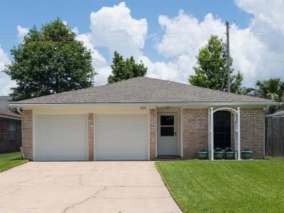 League City Single Family Home For Sale: 1808 Eagle Drive