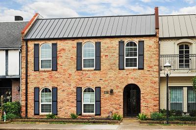 Houston Condo/Townhouse For Sale: 8615 La Fonte Street