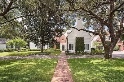 Houston Single Family Home For Sale: 3363 Inwood Drive
