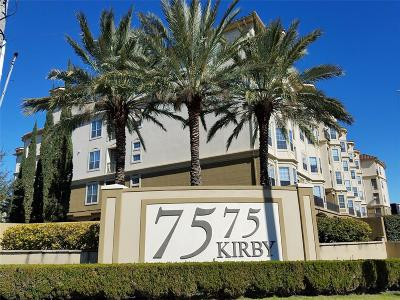 Condo/Townhouse For Sale: 7575 Kirby Drive #2418