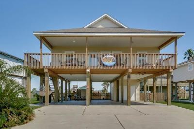 Galveston Single Family Home For Sale: 23134 Fresca
