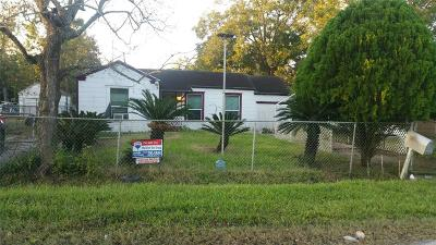Houston Single Family Home For Sale: 4118 Sunflower Street